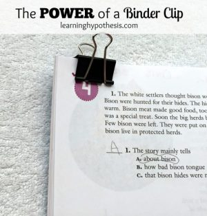 The Power of a Binder Clip