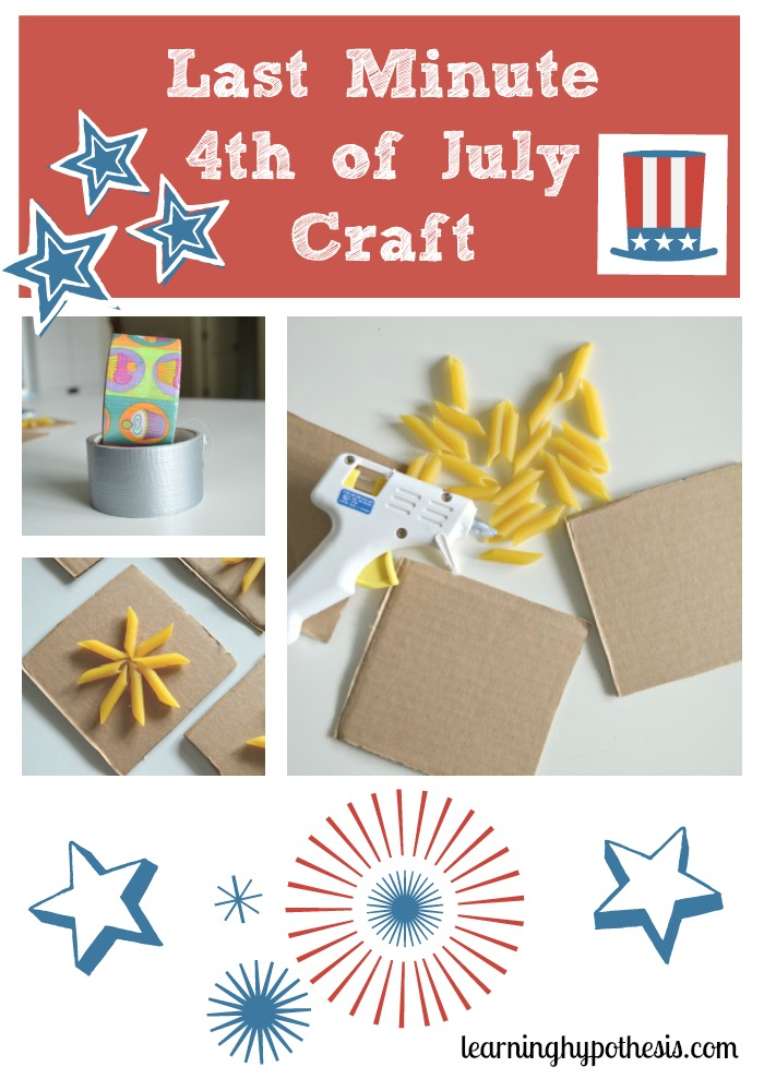 Last Minute 4th of July Craft
