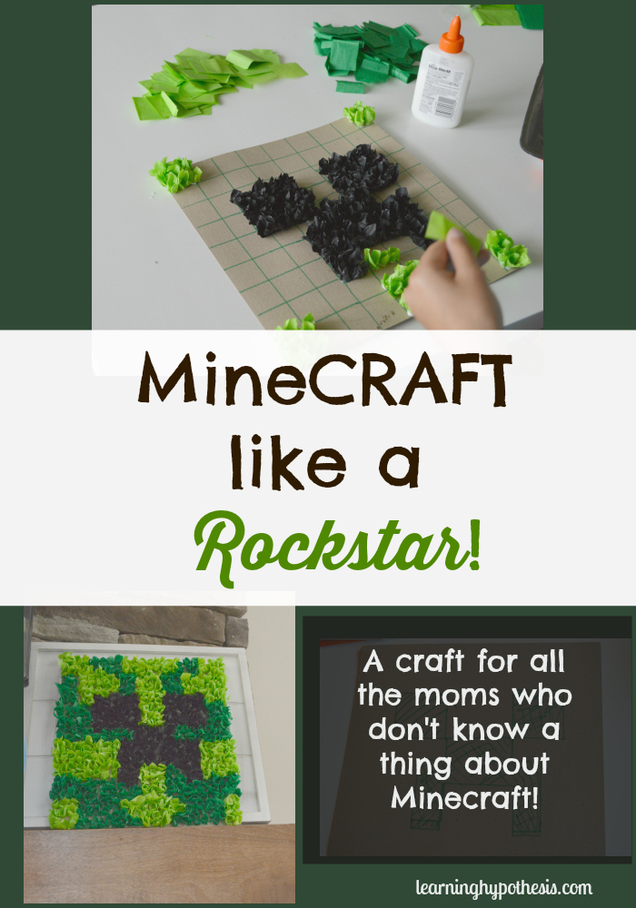 Minecraft Crafts for Parties or Just for Fun.