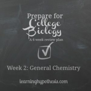 General Chemistry Review