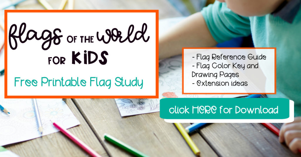 Flags of the World for Kids Printable
