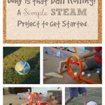 Why is that ball rolling? A Simple STEAM Project to Get Started.