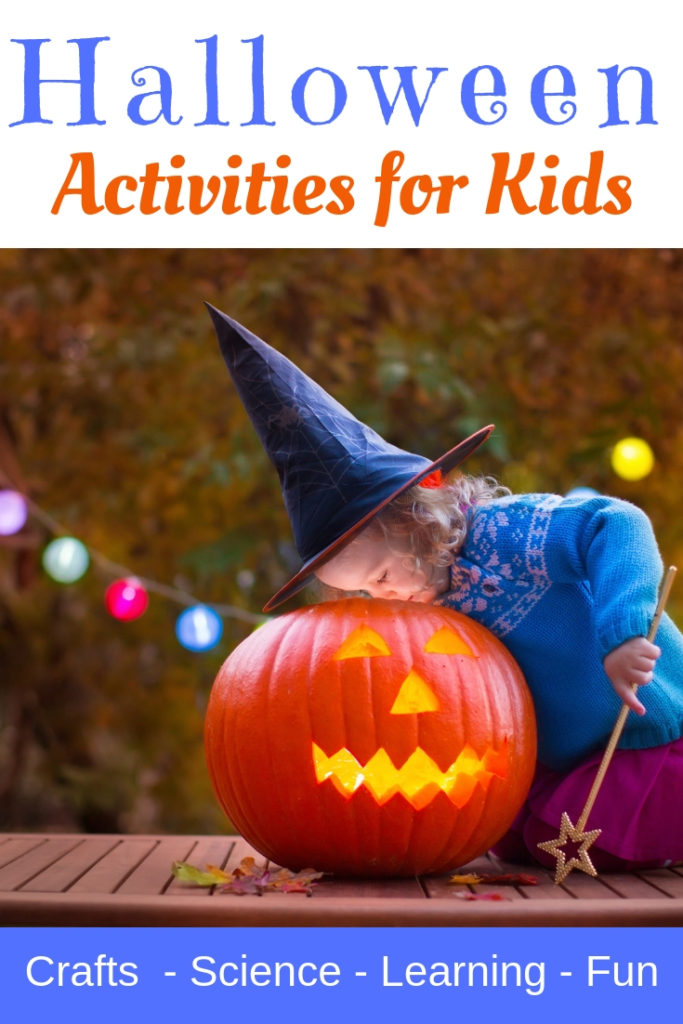 Halloween Themed STEAM activities for Kids of All Ages.