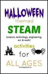 Halloween themed STEAM