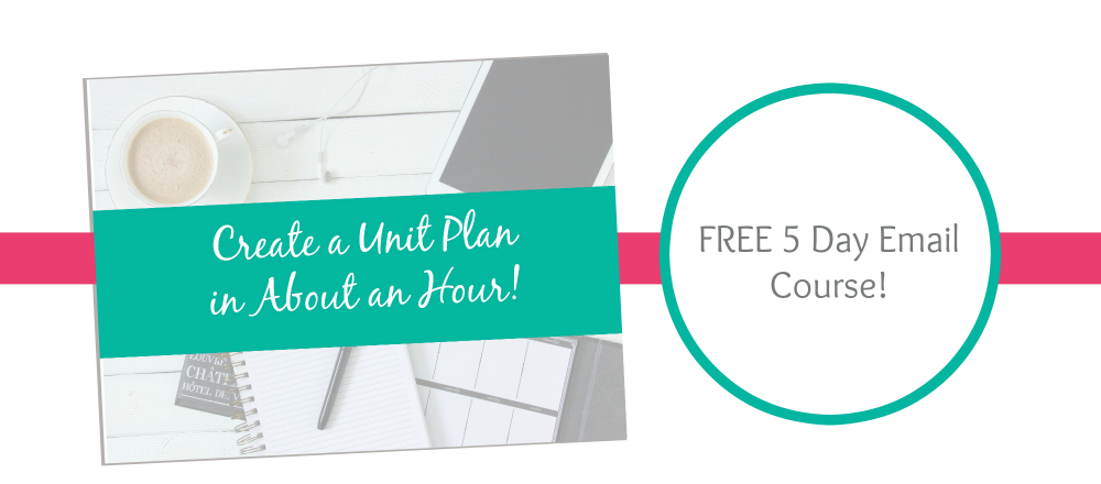 Unit Planing Email Course