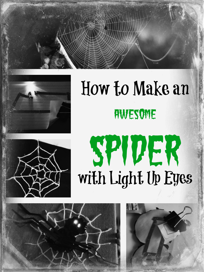 STEAM Week: Spiders with Light Up Eyes