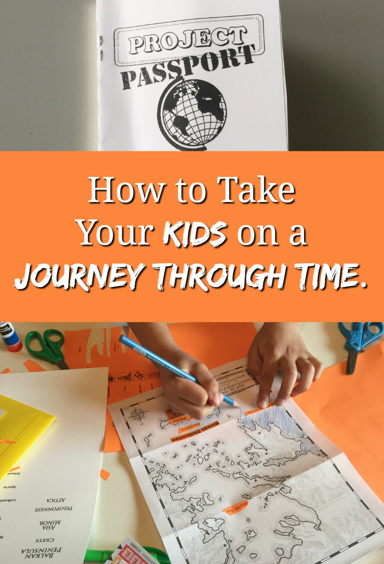 How to Take Your Kids on a Journey Through Time with Unit Studies.
