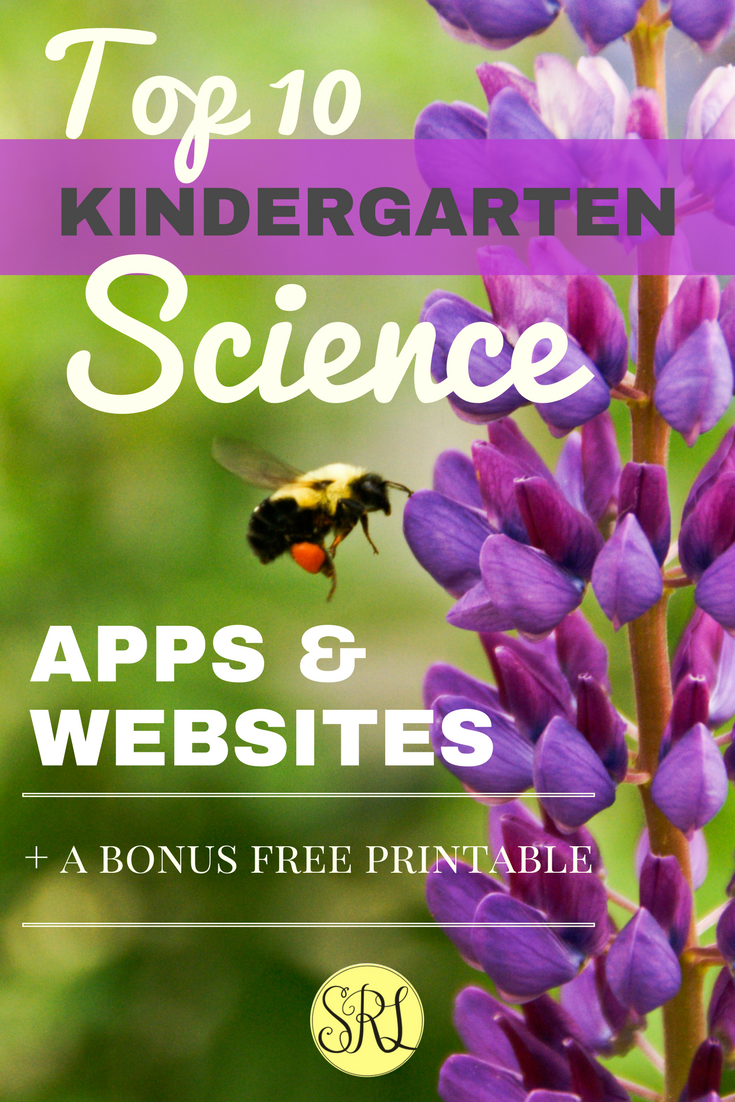 Top 10 Kindergarten Science Apps & Websites