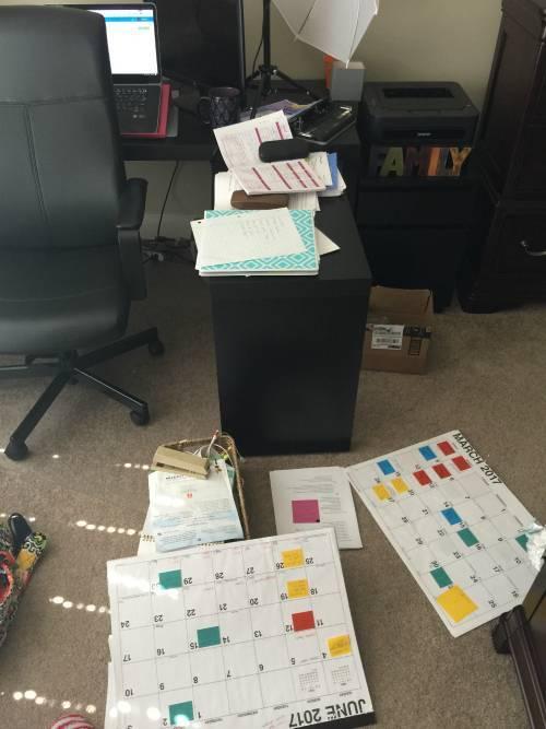 Not Organized Busy Mom