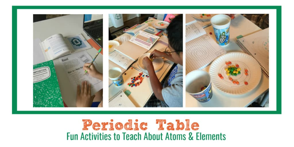 Periodic table fun activities that teach atoms and elements urtaz Gallery