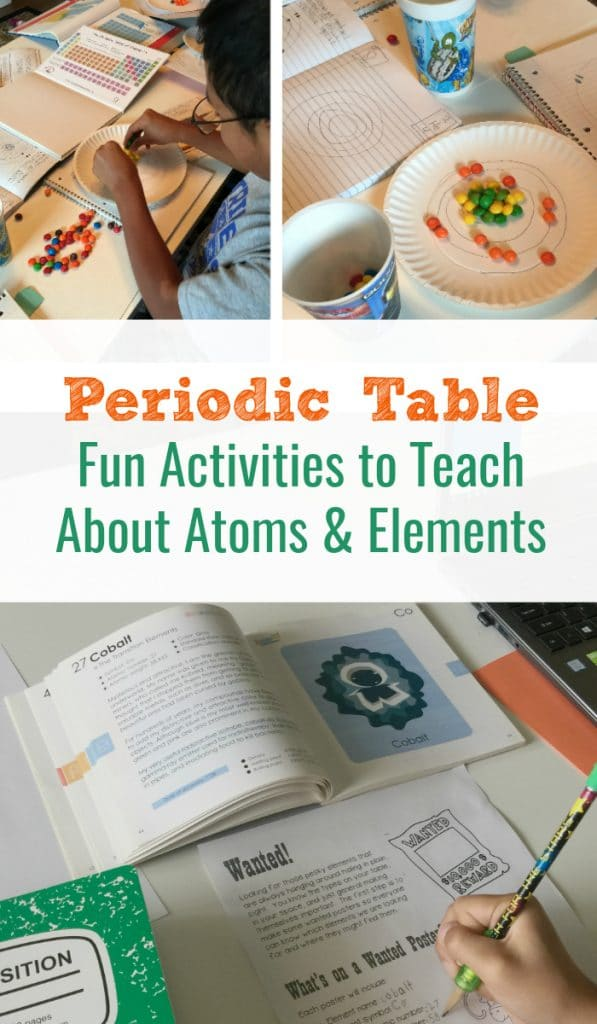 Periodic table fun activities that teach atoms and elements periodic table fun activities urtaz Images