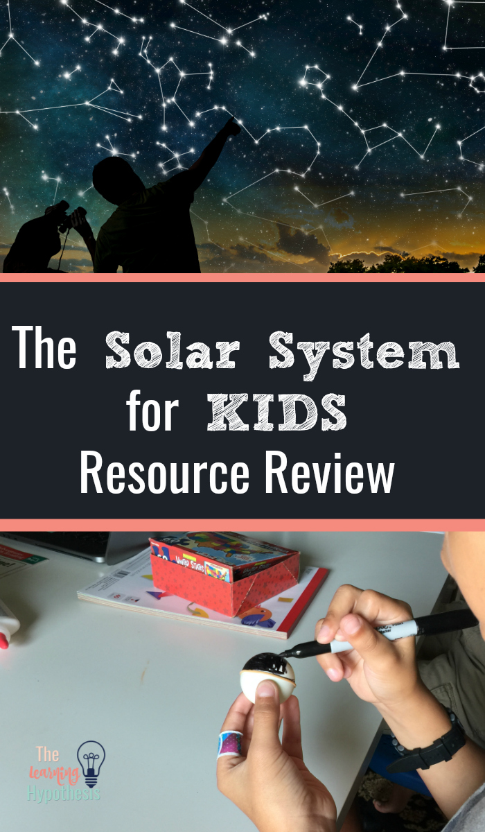 The Solar System for Kids Resource Review