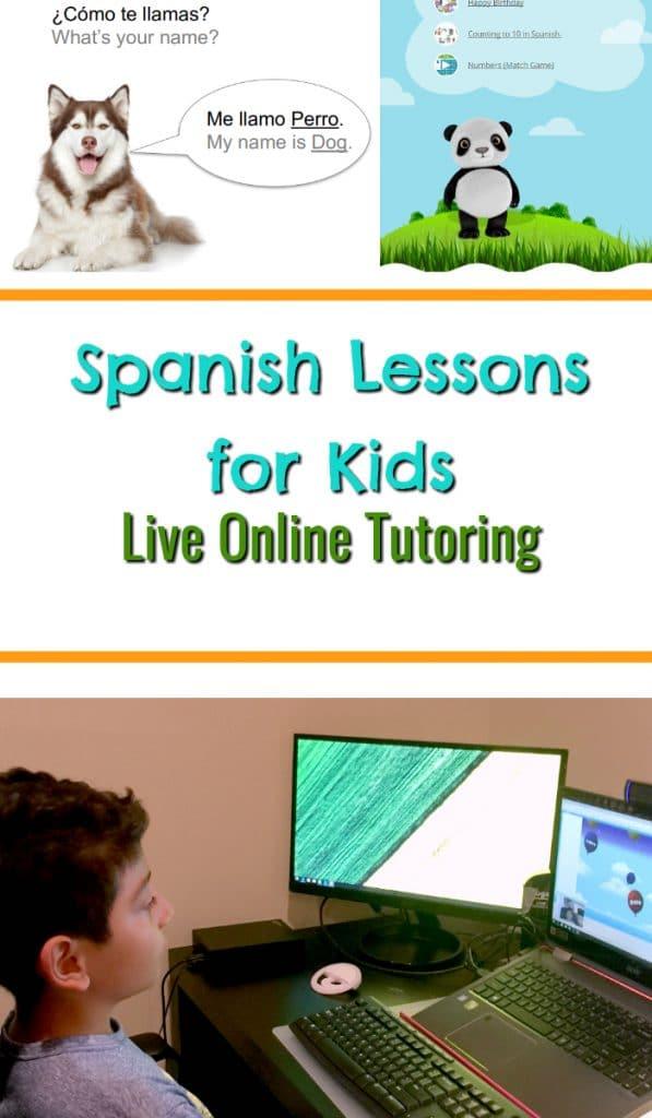 Spanish Lessons for Kids: Live Online Tutoring