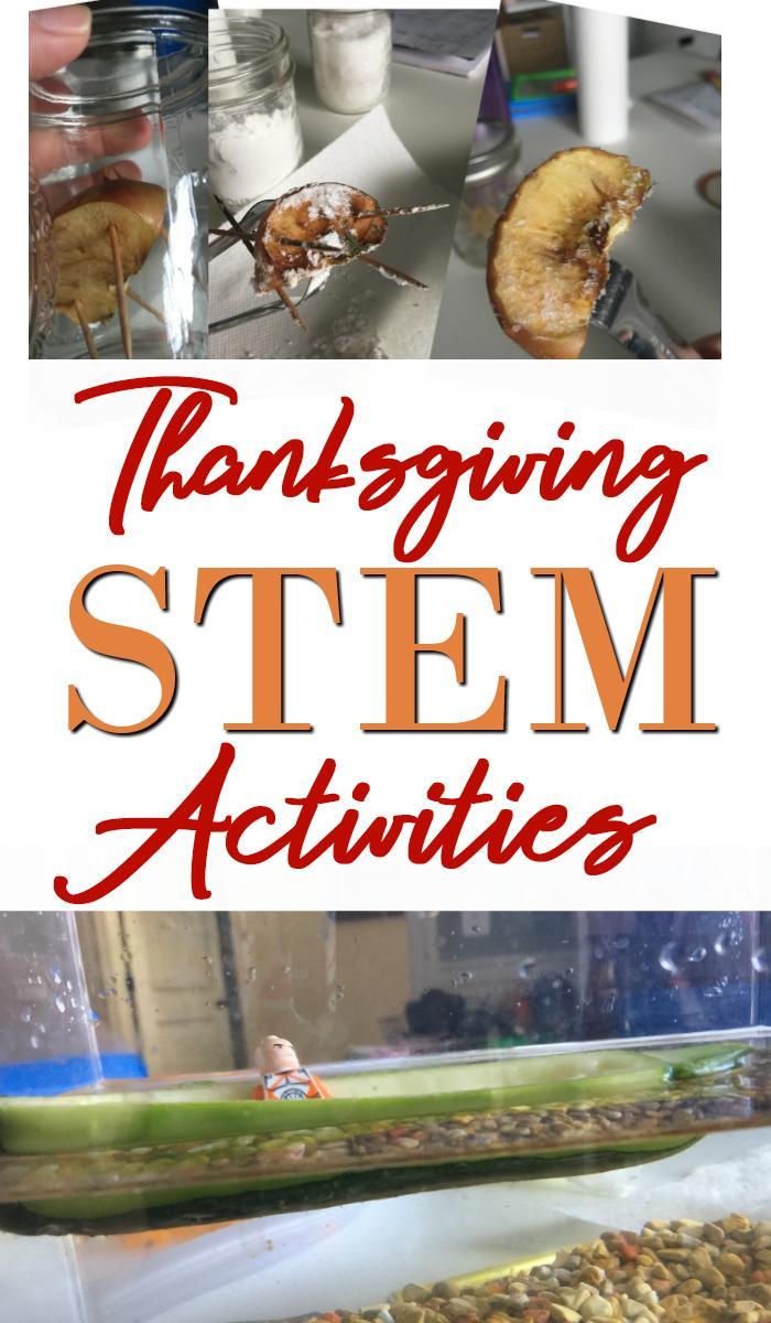 Thanksgiving STEM Activities