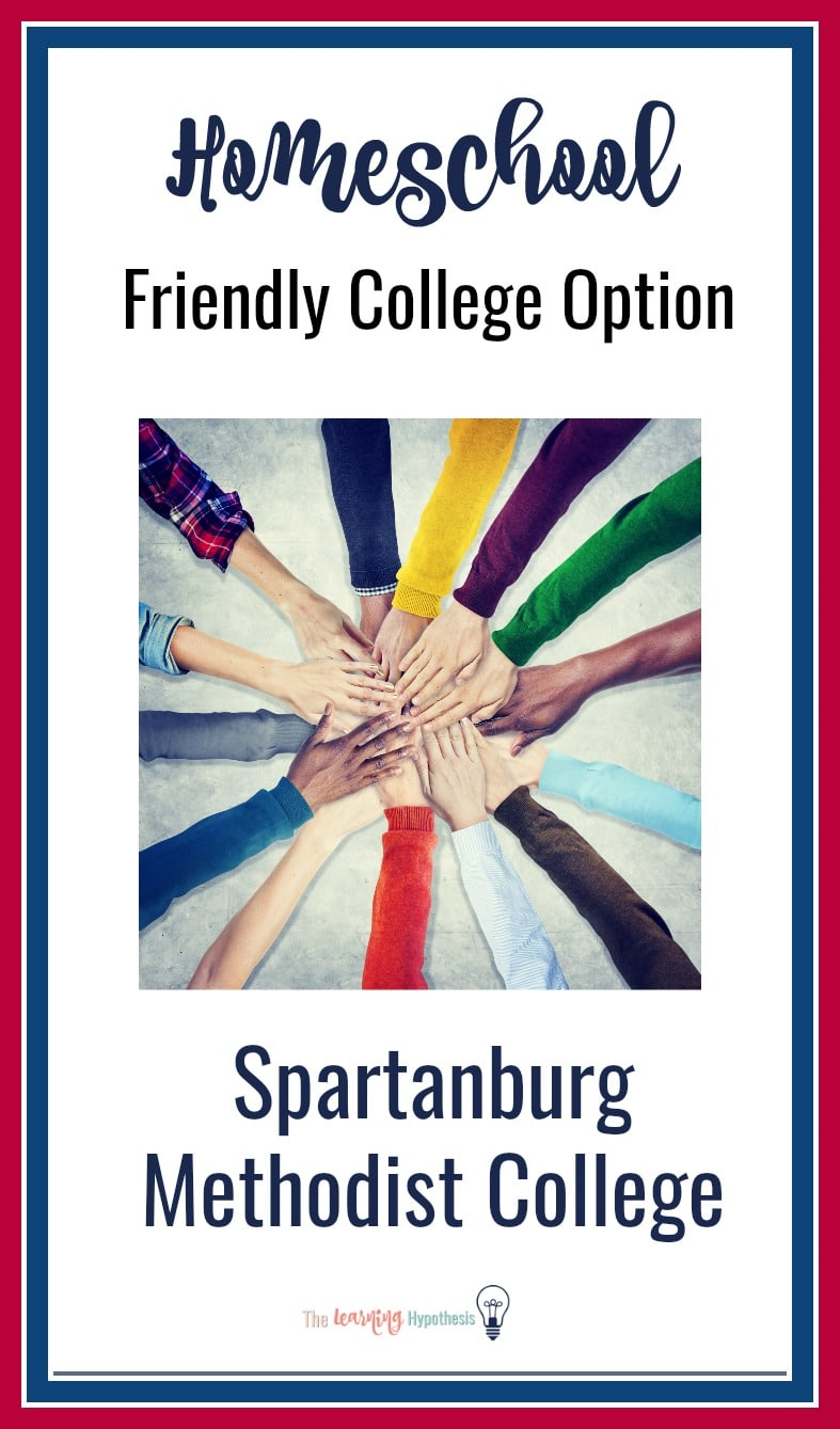 Look for a college that is homeschool friendly?  Check out Spartanburg Methodist College