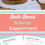 Bath Bomb Science Experiment.  What, Why & How