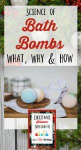 Bath Bomb Science Experiment