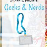 Fun Lanyards for Science Students, Teachers, Geeks & Nerds