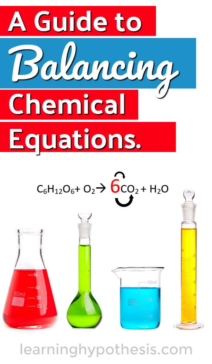 A Guide to Balancing Chemical Equations.