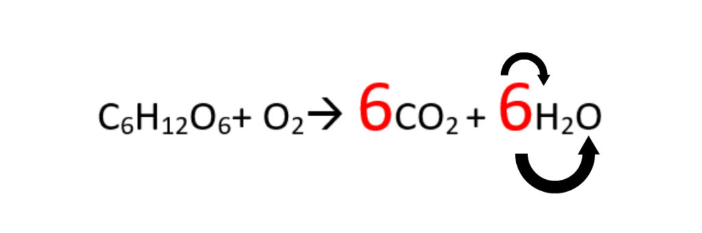 adding coefficients to chemical equations