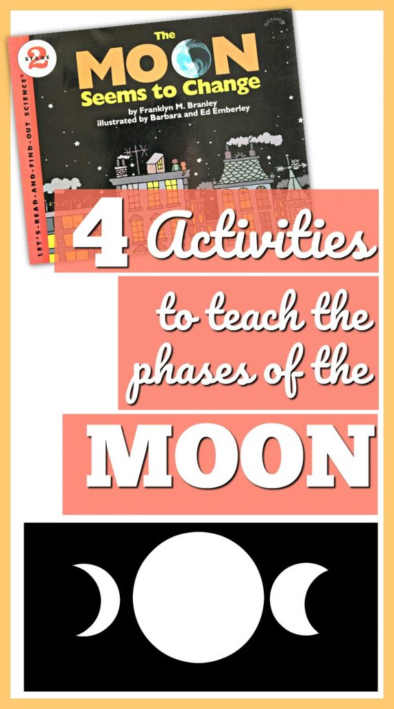 The Moon Changes: 4 Phases of the Moon Activities for Kids