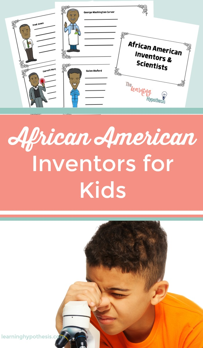 African American Inventors for Kids