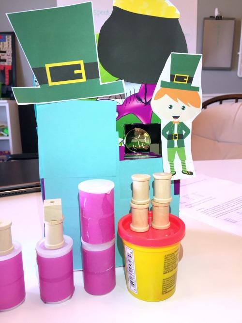 Leprechaun Trap Using Simple Machines