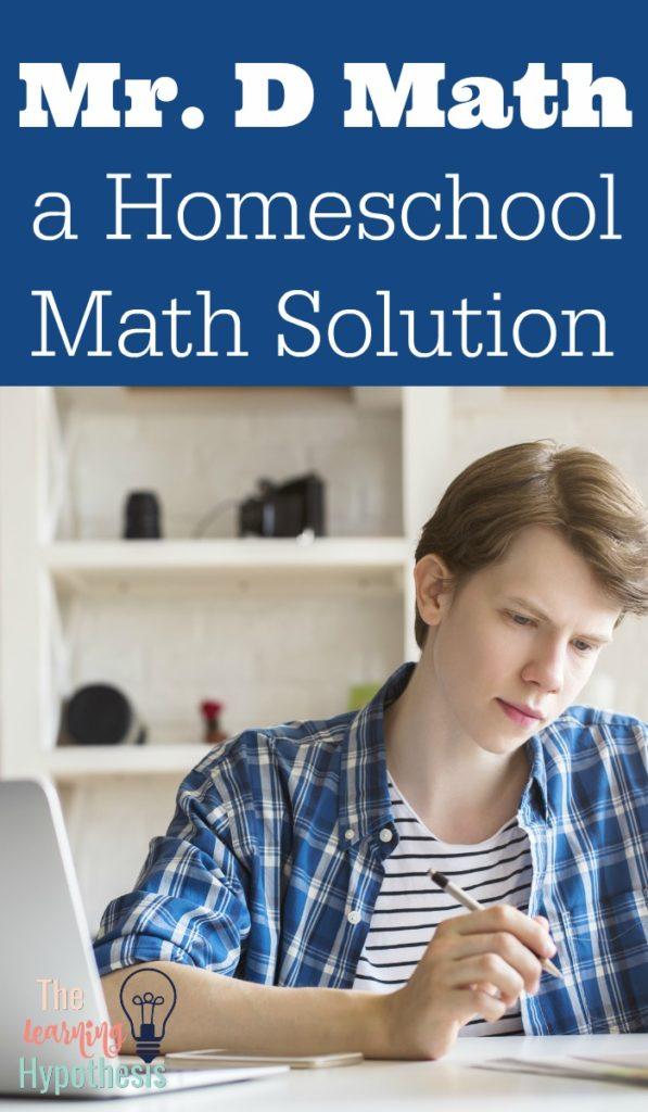 Mr. D Math Online Classes