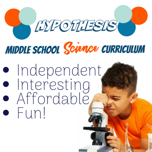 Hypothesis Middle School Science