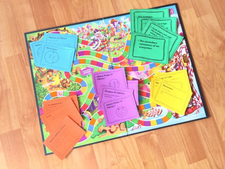 Task Cards Review Game