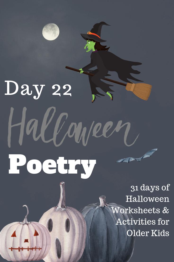 More Halloween Poetry