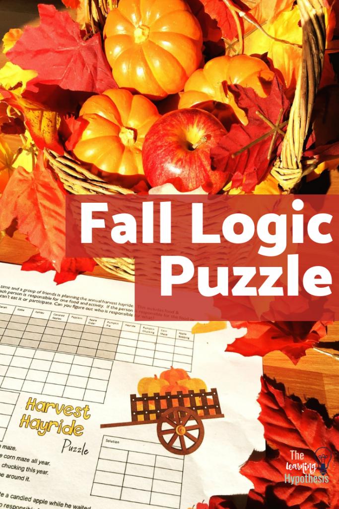 Fall Logic Puzzle