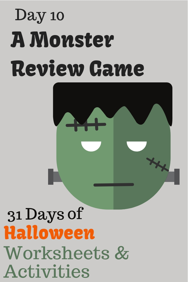 Monster Review Game