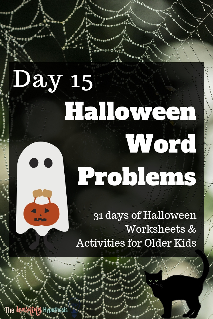 halloween activities for middle school and older.
