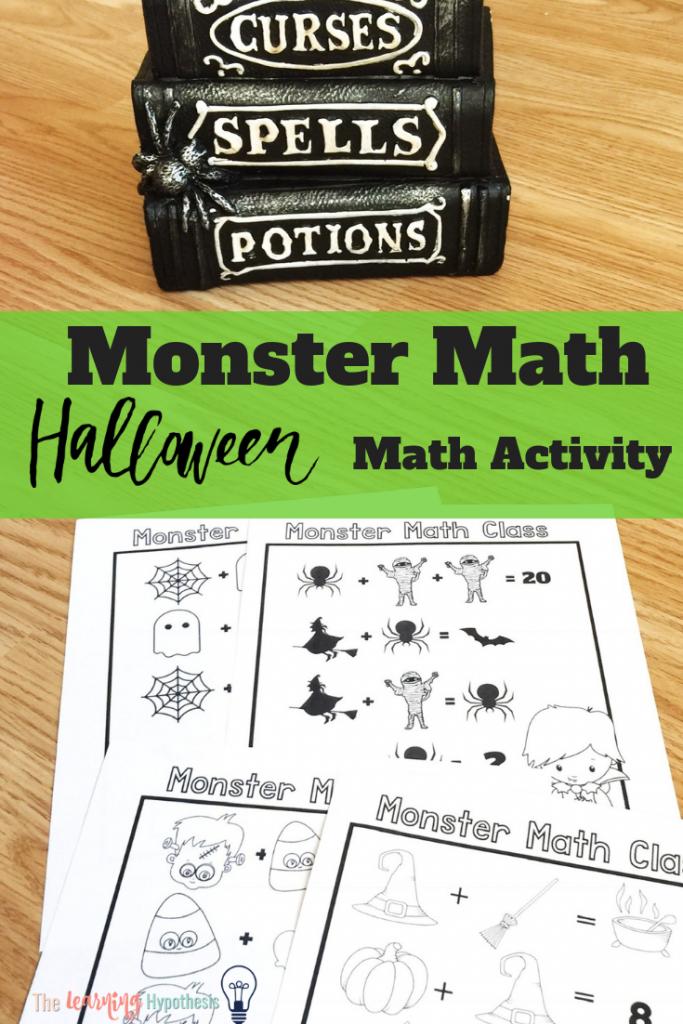 Halloween Math: Monster Edition