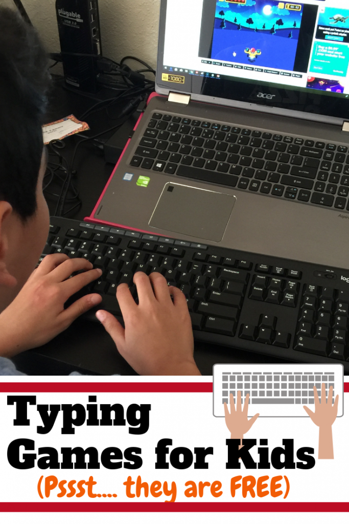 Typing Games to Teach Your Kids to Type